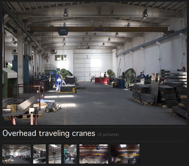 Overhead traveling cranes in Ind�stries Jov� Balasch